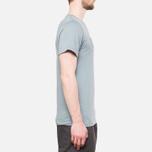 Fjallraven Logo T-Shirt Steel Blue photo- 1