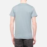 Fjallraven Logo T-Shirt Steel Blue photo- 3