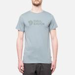 Fjallraven Logo T-Shirt Steel Blue photo- 4