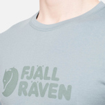 Fjallraven Logo T-Shirt Steel Blue photo- 5