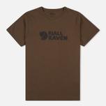 Мужская футболка Fjallraven Logo Tarmac фото- 0