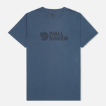 Fjallraven Logo Men's T-shirt Uncle Blue photo- 0