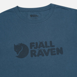 Fjallraven Logo Men's T-shirt Uncle Blue photo- 1