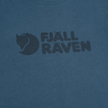 Fjallraven Logo Men's T-shirt Uncle Blue photo- 2