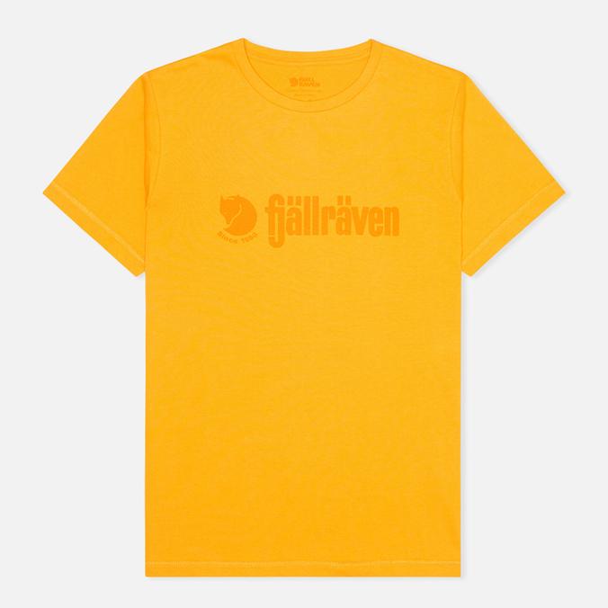 Мужская футболка Fjallraven Retro Campfire Yellow