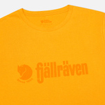 Мужская футболка Fjallraven Retro Campfire Yellow фото- 1