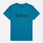 Мужская футболка Fjallraven Retro Lake Blue фото- 0