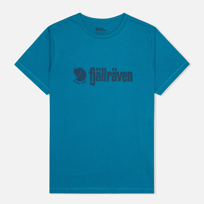 Мужская футболка Fjallraven Retro Lake Blue