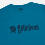 Мужская футболка Fjallraven Retro Lake Blue фото- 1