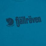 Мужская футболка Fjallraven Retro Lake Blue фото- 2