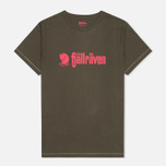 Fjallraven Retro Men's T-shirt Olive photo- 0