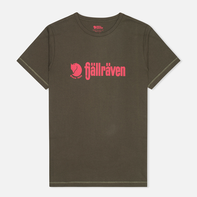 Fjallraven Retro Men's T-shirt Olive