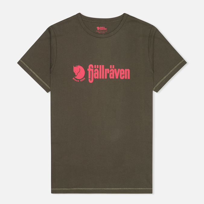 Мужская футболка Fjallraven Retro Olive