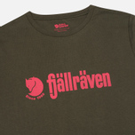 Fjallraven Retro Men's T-shirt Olive photo- 1