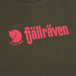 Fjallraven Retro Men's T-shirt Olive photo- 2