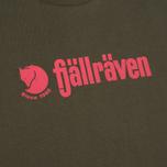 Мужская футболка Fjallraven Retro Olive фото- 2