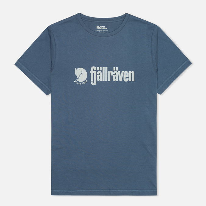 Мужская футболка Fjallraven Retro Uncle Blue
