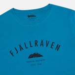 Мужская футболка Fjallraven Trekking Equipment Lake Blue фото- 1