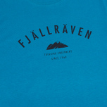 Мужская футболка Fjallraven Trekking Equipment Lake Blue фото- 2