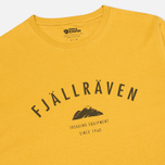 Мужская футболка Fjallraven Trekking Equipment Ochre фото- 1