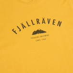 Мужская футболка Fjallraven Trekking Equipment Ochre фото- 2