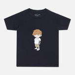 Детская футболка Fred Perry Little Fred Navy фото- 0