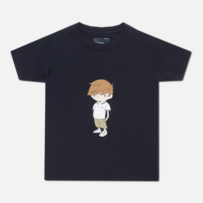 Детская футболка Fred Perry Little Fred Navy