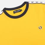 Мужская футболка Fred Perry Taped Ringer Bright Yellow фото- 1