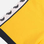 Мужская футболка Fred Perry Taped Ringer Bright Yellow фото- 3