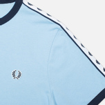 Мужская футболка Fred Perry Taped Ringer Glacier фото- 2