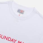 Мужская футболка Garbstore A Sunday Man White фото- 1