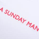 Мужская футболка Garbstore A Sunday Man White фото- 2