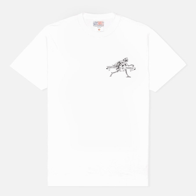 Garbstore Death Ramble T-shirt White