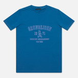 Мужская футболка Grunge John Orchestra. Explosion 6F9/1A Blue фото- 0