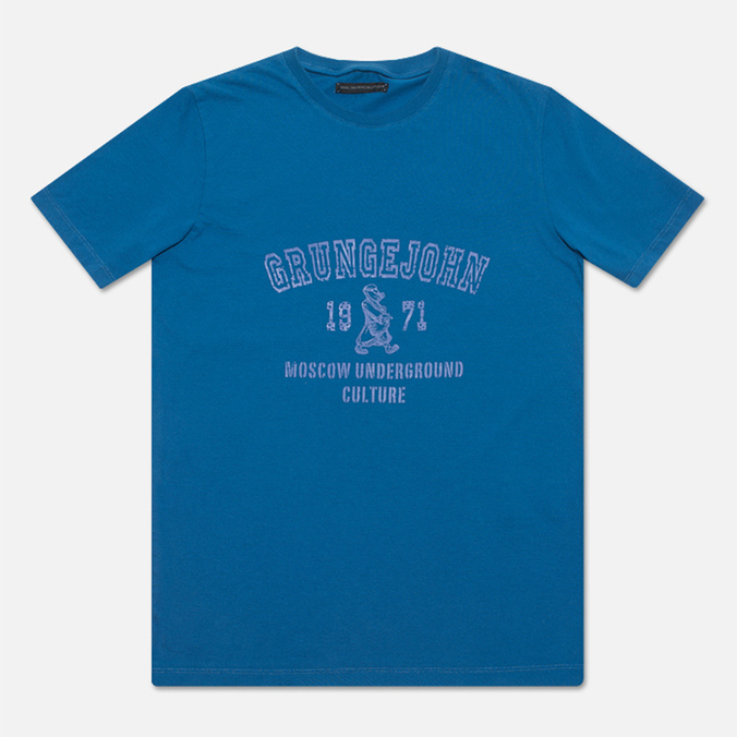 Grunge John Orchestra. Explosion 6F9/1A T-shirt Blue