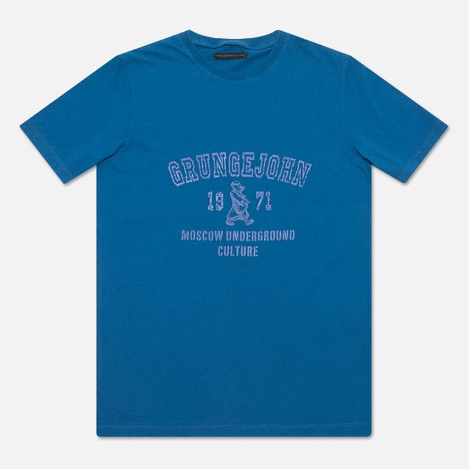 Мужская футболка Grunge John Orchestra. Explosion 6F9/1A Blue