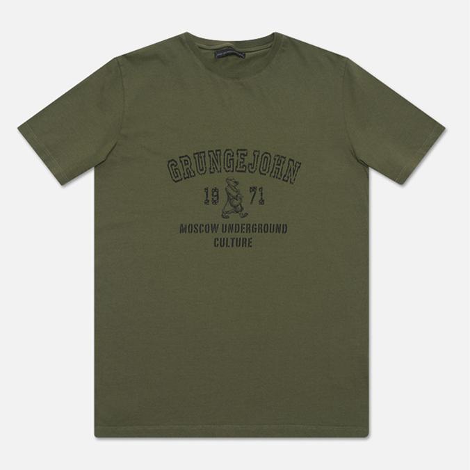 Мужская футболка GJO.E 6F9/1A Khaki