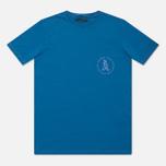 Мужская футболка Grunge John Orchestra. Explosion 6F9A Blue фото- 0