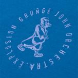 Мужская футболка Grunge John Orchestra. Explosion 6F9A Blue фото- 2