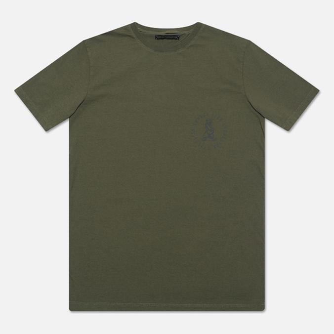 Мужская футболка Grunge John Orchestra. Explosion 6F9A Khaki