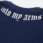 Мужская футболка Grunge John Orchestra. Explosion 6T20B Dark Navy фото- 2