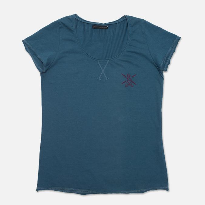 Женская футболка GJO.E 6T9AD Blue