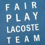 Детская футболка Lacoste Fair Play Print Philippines Blue/Blanc фото- 2