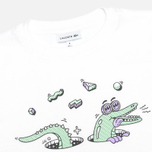 Детская футболка Lacoste Steven Harrington Print White фото- 1