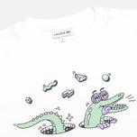 Lacoste Steven Harrington Print Children's t-shirt White photo- 1
