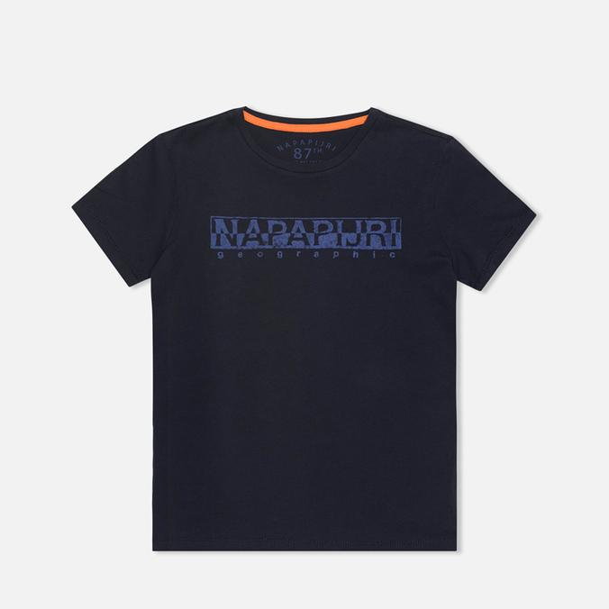 Детская футболка Napapijri Sapriol Blue Marine