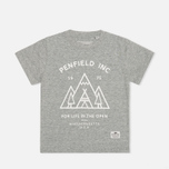 Penfield Teepee T-shirt Grey Melange photo- 0