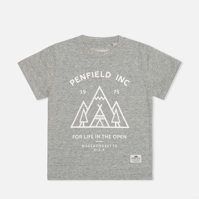 Детская футболка Penfield Teepee Grey Melange