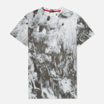 Мужская футболка Kommon Universe Crater Aqua/Marble фото- 0