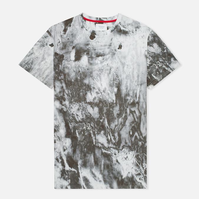 Мужская футболка Kommon Universe Crater Aqua/Marble